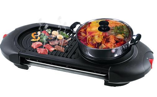 Bếp lẩu nướng điện Philiger PLG-6066