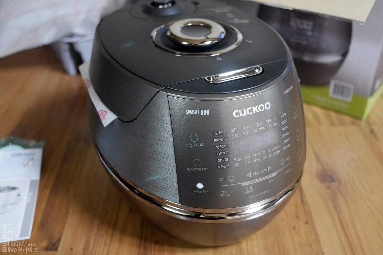 Nồi cơm điện từ CUCKOO CRP-CHRN1010FD