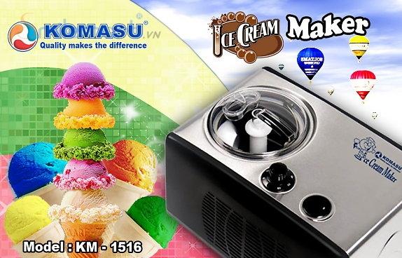 Máy làm kem Komasu KM-1516