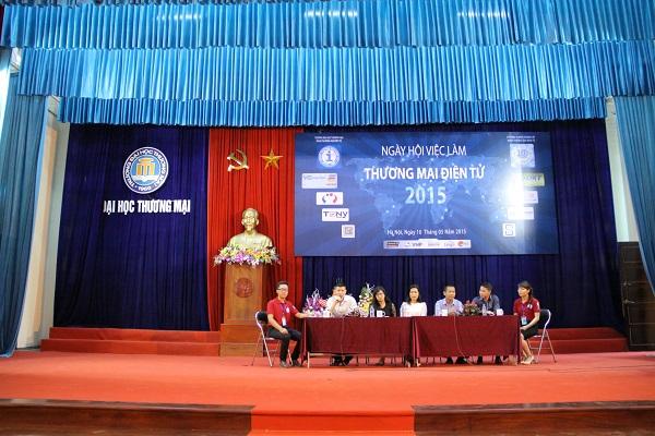 Tọa đàm Thương mại điện tử 2015 - Giao lưu trực tiếp giữa doanh nghiệp và sinh viên