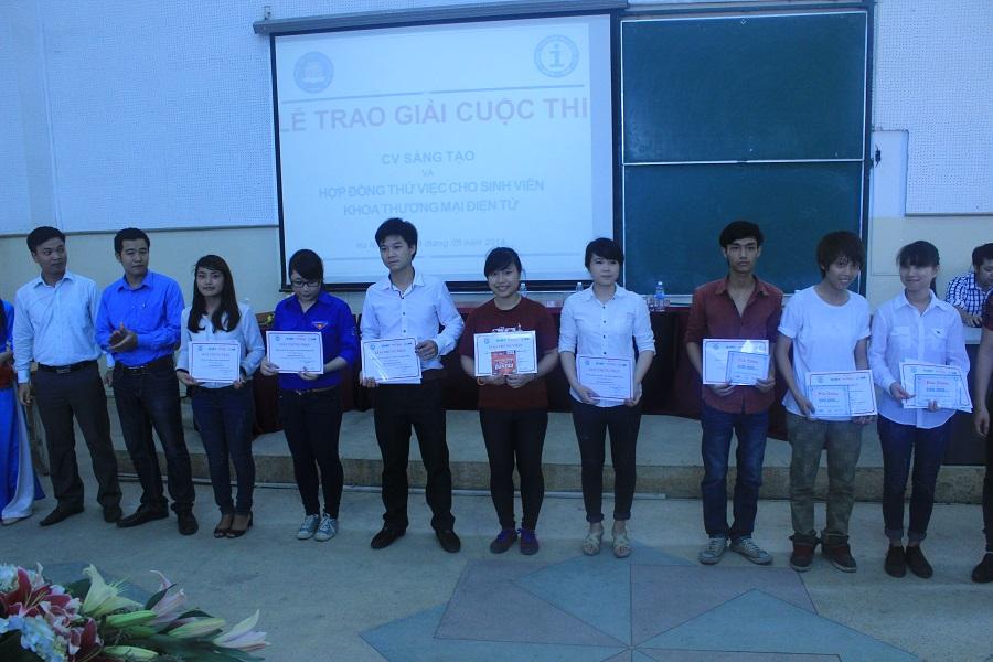 Lễ trao giải cuộc thi CV sáng tạo