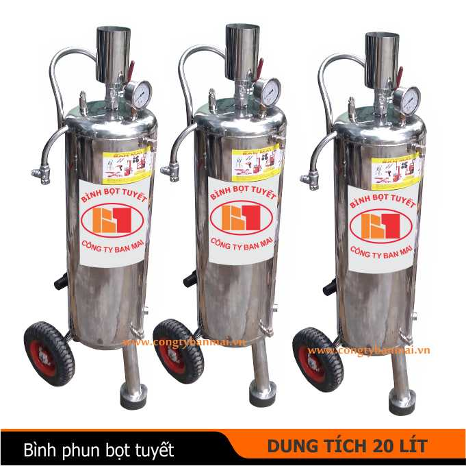 binh bot tuyet 20 lit, binh phun bot tuyet rua xe oto xe may 20 lit, binh tao bot tuyet 20 lit, may phun bot tuyet 20 lit