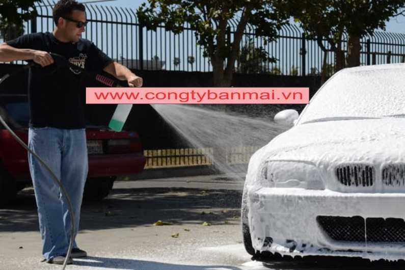 nước rửa xe bọt tuyết, máy rửa xe bọt tuyết, dung dịch rửa xe, bọt tuyết rửa xe ô tô, hóa chất tẩy rửa xe