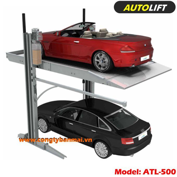 Cầu nâng đậu xe ô tô atl500, Cầu nâng đỗ xe ô tô du lich atl500