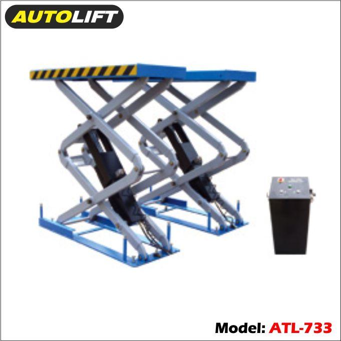 Cầu nâng chữ X, cầu nâng cắt kéo, cầu nâng kiểu xếp