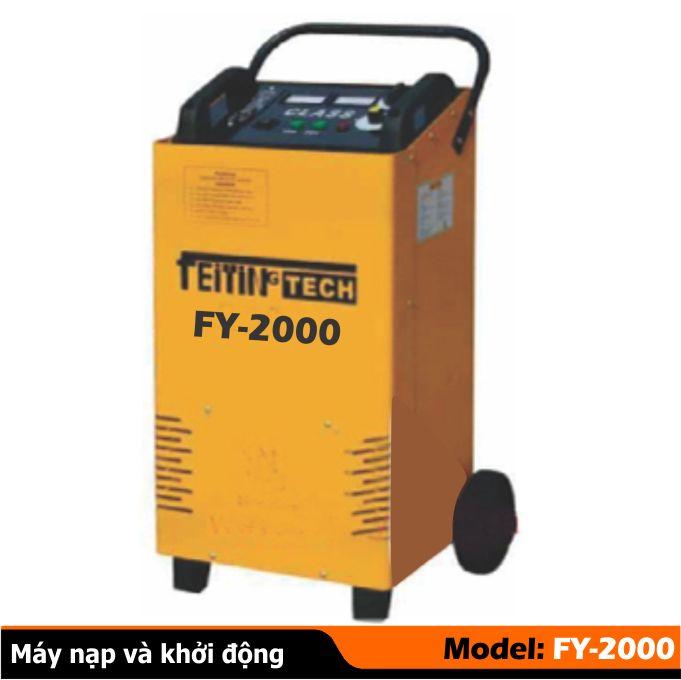 máy nạp ắc qui và đề khởi động, máy đề khởi động  FY-2000
