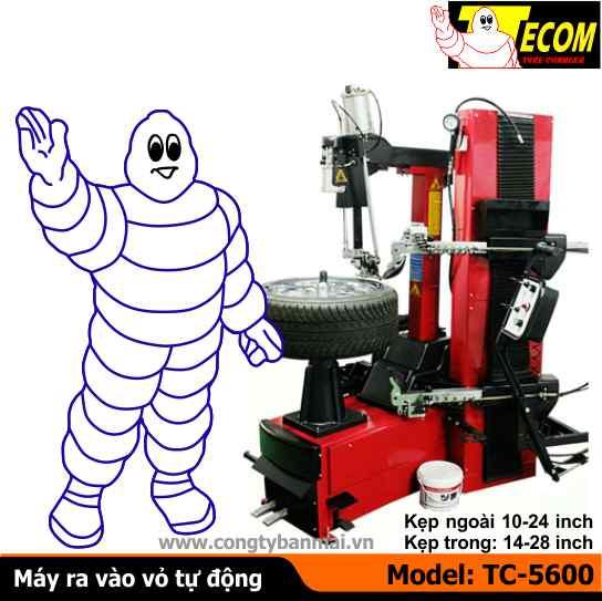 máy ra vào lốp tự động TC5600, máy làm lốp tự động, máy tháo vỏ tự động, máy ra vỏ tự động, máy ra vào lốp xe tải, máy ra vào lốp ô tô