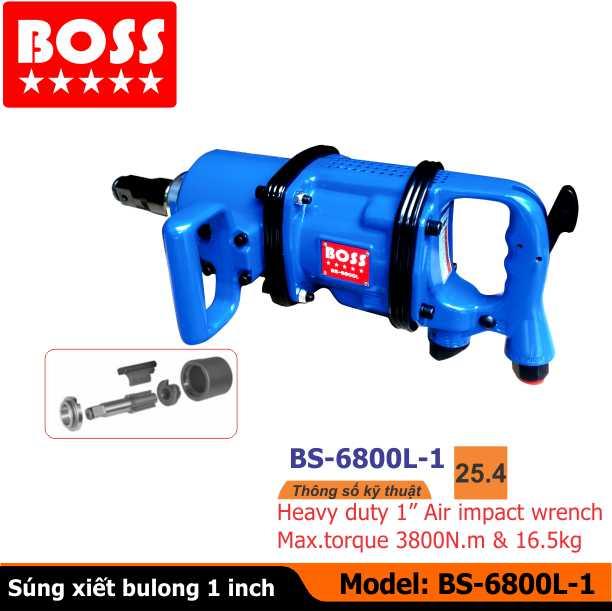 Sung van bu long, Súng vặn bulong BOSS, Súng xiết bulong BOSS BS-6800L, Dụng cụ vặn bulong, Dụng cụ khí nén BOSS, Thiết bị sửa chữa ô tô