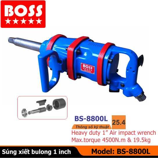 Súng vặn bulong BOSS, Súng xiết bulong BS-8800L