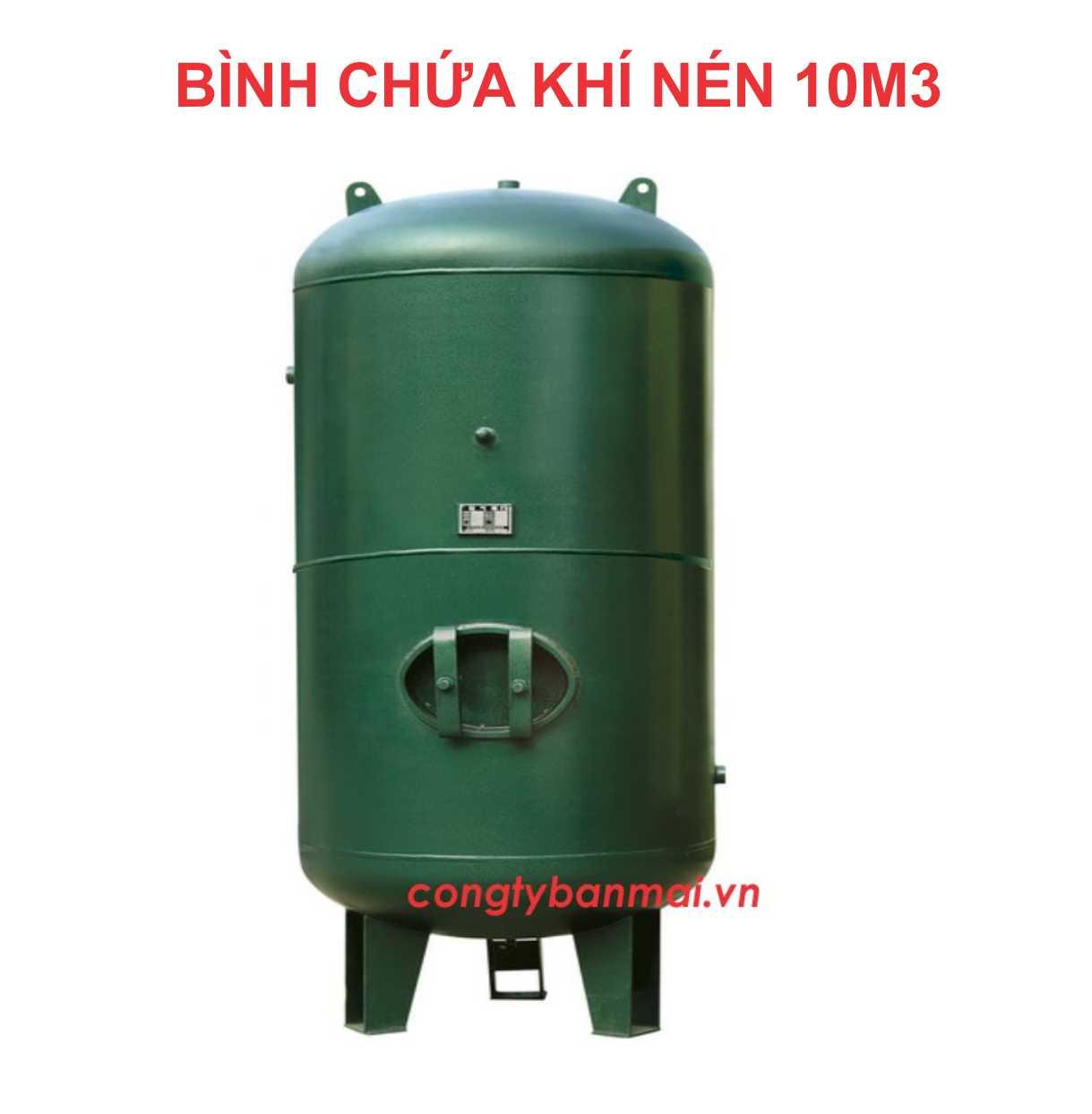 Bình chứa khí nén 10m3, bình nén khí 10,000 lít