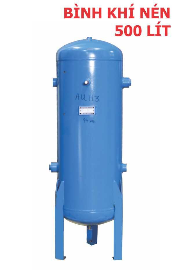 Bình khí nén 500 lít, bình chứa khí nén 500 lít