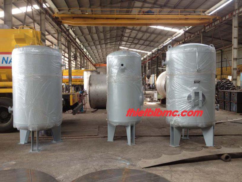 Sản xuất bình nén khí 1500 lít hay bình chứa khí nén 1,5 m3