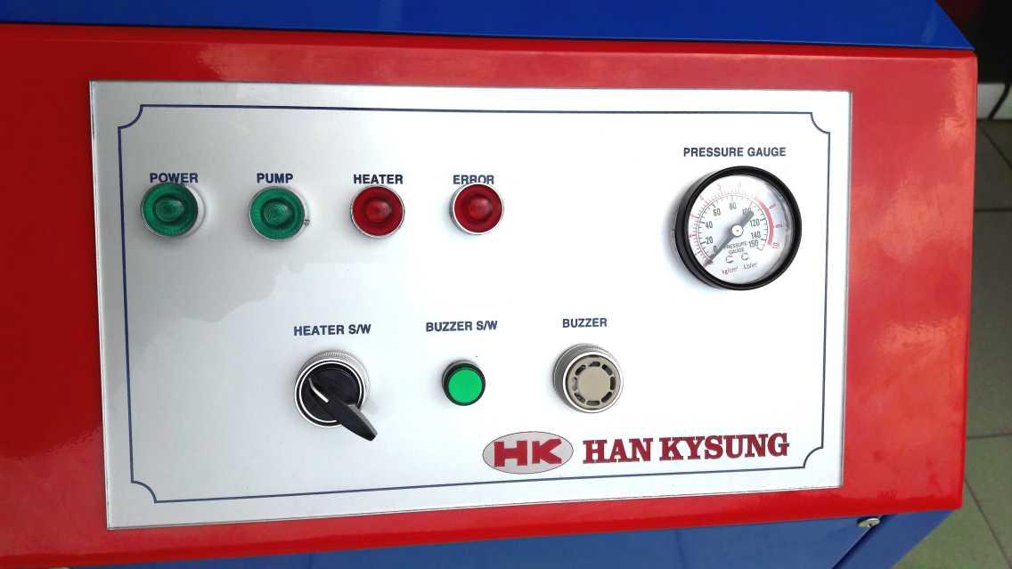 máy rửa dọn nội thất bằng hơi nước nóng hk-12