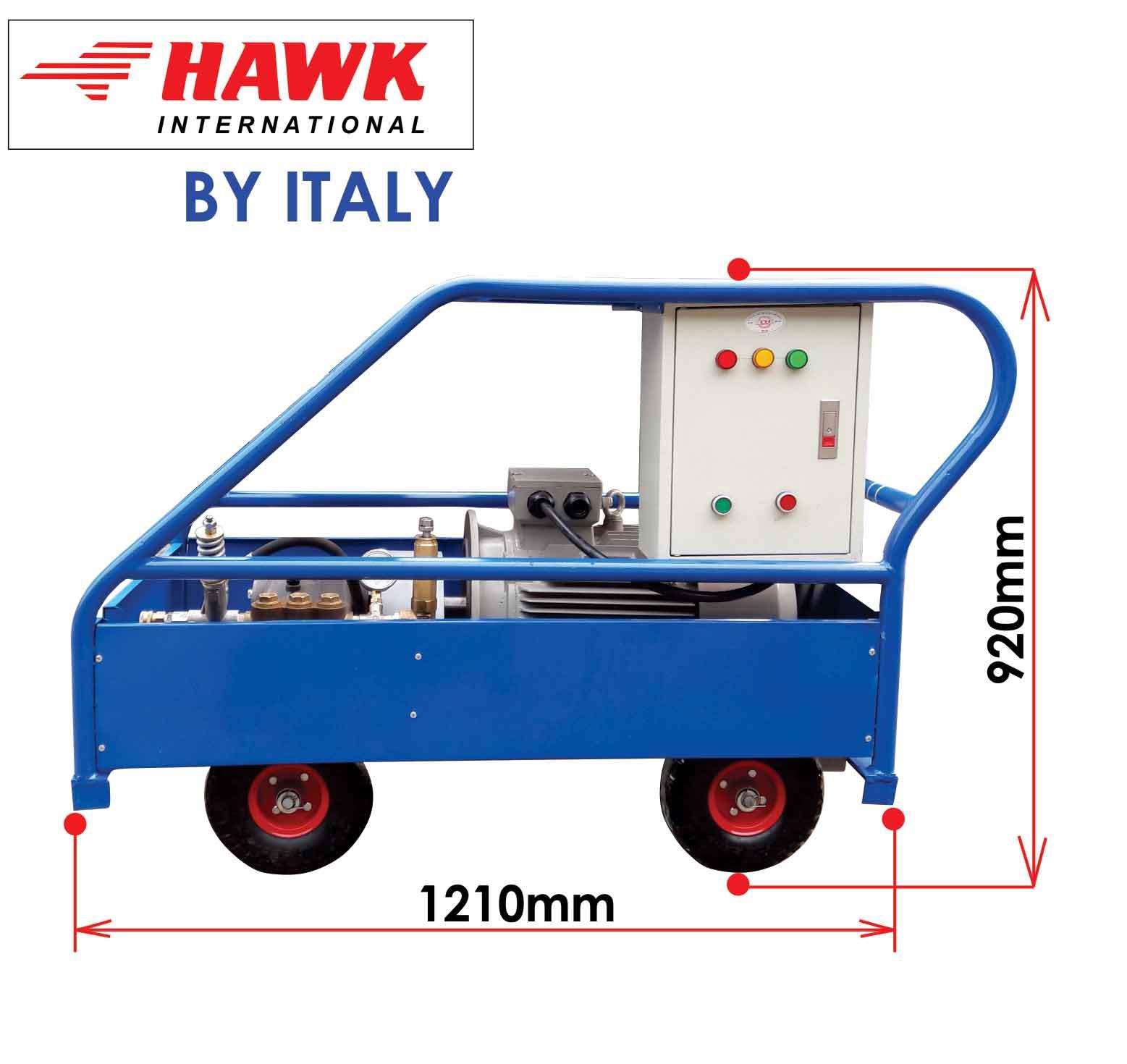 máy phun rửa công nghiệp 15KW , máy phun áp lực cao 15KW, máy rửa siêu áp 15KW