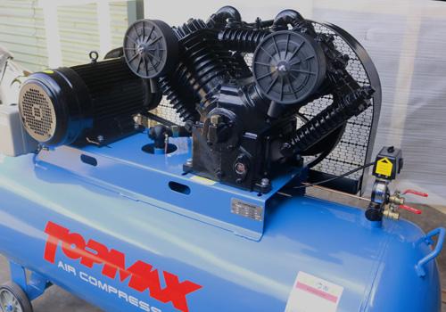 Máy nén khí 10HP hiệu TOPMAX,  máy bơm hơi 10 ngựa, máy nén hơi 10HP