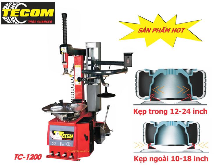 máy ra vào lốp tự động TC1200, máy làm lốp tự động, máy tháo vỏ tự động, máy ra vỏ tự động
