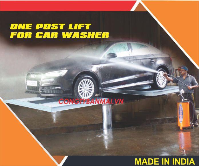 Cầu nâng rửa xe, ben nâng rửa xe, cầu nâng 1 trụ rửa xe, ben nâng 1 trụ rửa xe