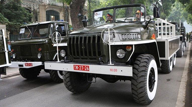 biển số xe quân đội