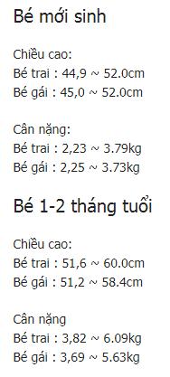 be 9 thang tuoi nang bao nhieu kg