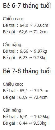 tre 9 thang tuoi nang bao nhieu kg