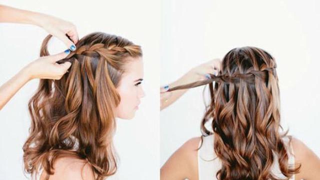 cách tết tóc đơn giản