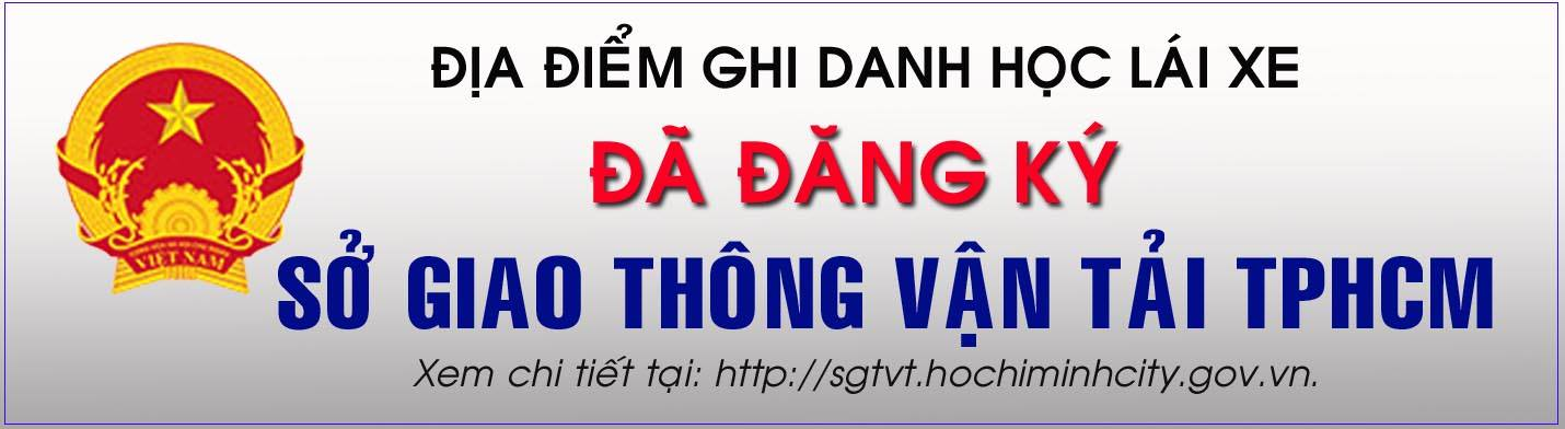 SỞ GTVT TPHCM