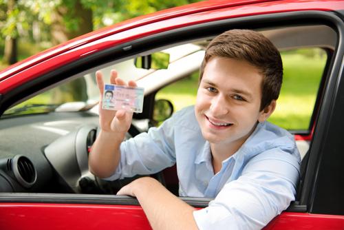 giấy phép lái xe số tự động