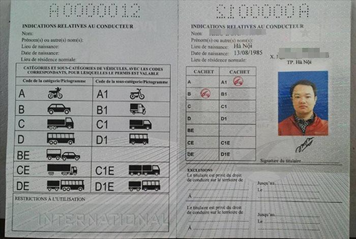 giấy phép lái xe quốc tế IDP