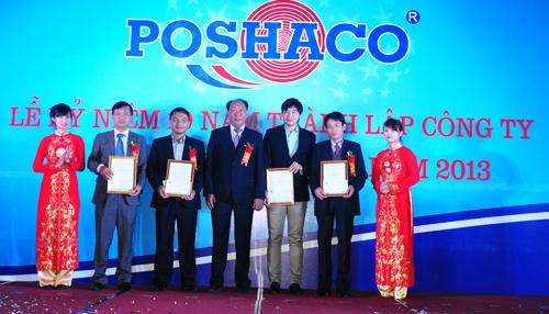 Poshaco là một trong những đơn vị bán tôn mạ màu uy tín ở TP HCM