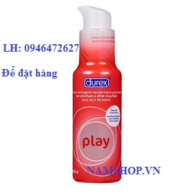 Gel bôi trơn Durex Play Wamrming