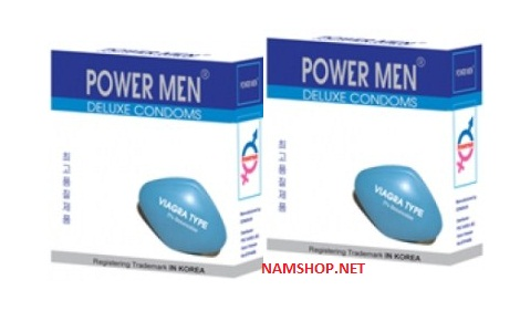 Bao cao su Power Men Viagra type