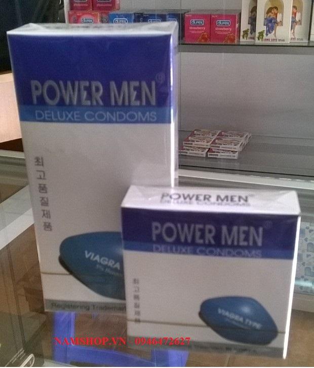 Bao cao su Hàn Quốc Power Men Viagra Type