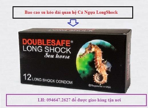 Mua 6 hộp bcs Cá Ngựa LongShock chỉ tính tiền 5 hộp, tiết kiệm đượ 80k