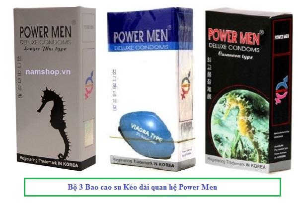 Mua 6 hộp PowerMen Viagra Type chỉ tính tiền 5 hộp, tiết kiệm được 90 ngàn