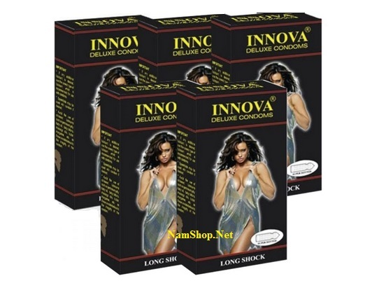 Mua 6 hộp bao cao su INNOVA chỉ tính tiền 5 hộp