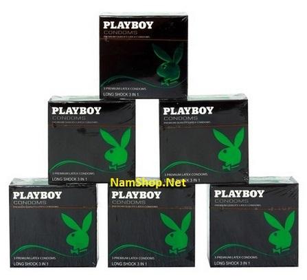 Mua 6 hộp bao cao su PlayBoy 3in1 chỉ tính tiền 5 hộp