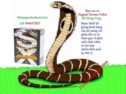 Mua 6 hộp Sagami Xtreme Cobra chỉ tính tiền 5 hộp, tiết kiệm được 110 ngàn