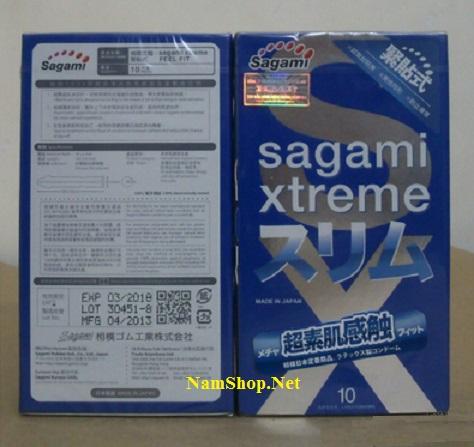 Mua 6 hộp bao cao su Sagami Xtreme Feel Fit tính tiền 5 hộp