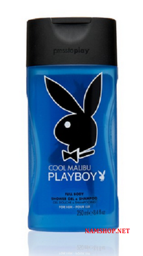 Gel tắm gội PlayBoy Cool Malibu