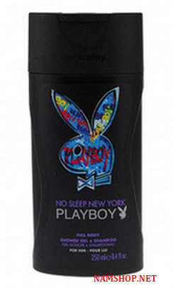 Gel tắm gội PlayBoy No Sleep New York
