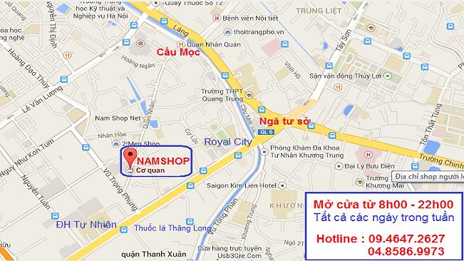 Bản đồ đến NAMSHOP - Siêu thị đồ nam