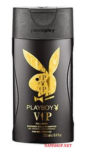 Gel tắm gội cho nam PlayBoy Vip