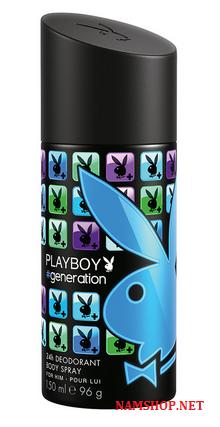 Chai xịt khử mùi toàn thân cho nam PlayBoy # Generation