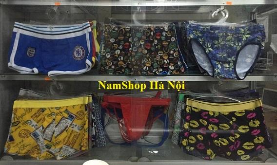 Các mẫu quần lót nam sexy kiểu độc lạ có bán tại NamShop Hà Nội