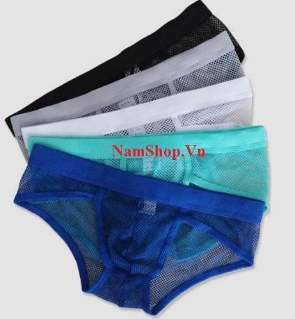 Hình ảnh quần lót nam lưới sexy Aberich QL26