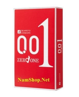 Bao cao su mỏng nhất thế giới Okamoto Zero One 001