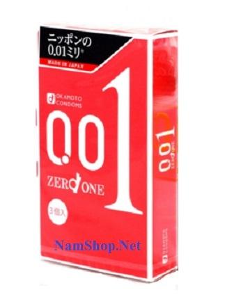 Bao cao su mỏng nhất thế giới Okamoto 001