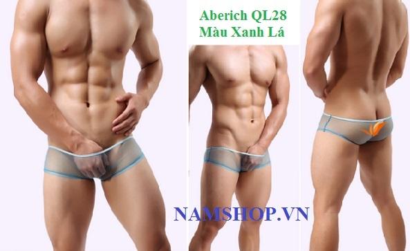 Quần lót nam lưới trong suốt sexy Aberich QL28