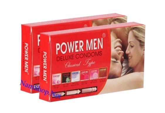 Bao cao su Power Men giá rẻ dùng cho gia đình
