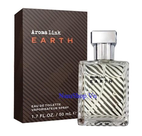 Nước hoa nam chính hãng Aroma Link Earth
